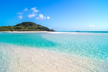 Photo sur Aluminium Océanie Whitehaven Beach, Australien
