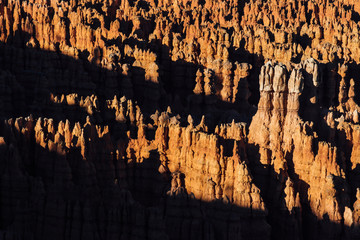 Sunset over Hoodoos at Bryce