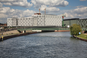Spree river in Berlin. Germany