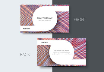 Simple Business Card Layouts 4
