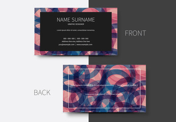 Simple Business Card Layouts 7