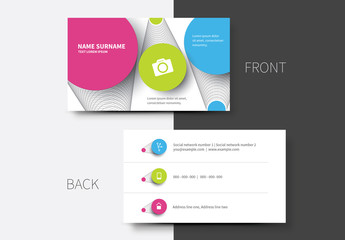 Simple Business Card Layouts 12