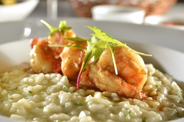 Shrimp Risoto