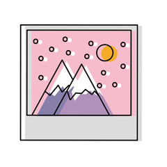 landscape picture icon