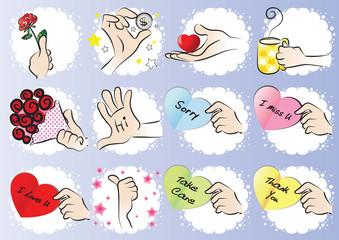 hand talk set