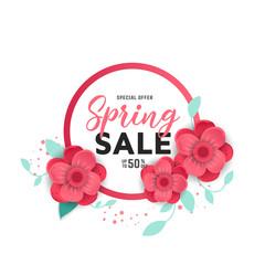 Paper art of spring sale