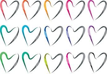 heart shape design background