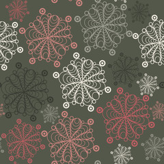 Graphic illustration with seamless pattern 5