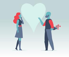 Proposta importante e pegno d'amore