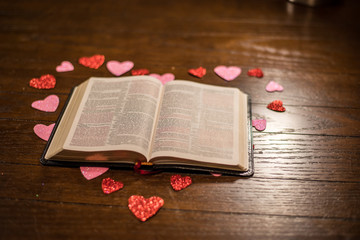 the word of God on valentines day