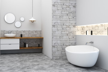Wall Mural - Clean bath room