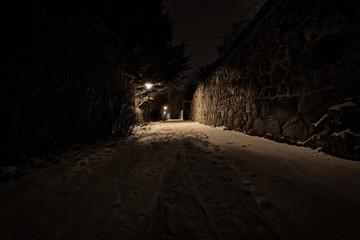 An der Stadtmauer in Prenzlau