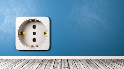 Electrical Outlet in the Room Close-up