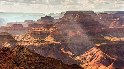 Grand Canyon South Rim as seen from  Desert View, Arizona, USA Wall mural