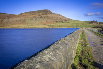 Embsay Reservoir north of Skipton in the Yorkshire Dales