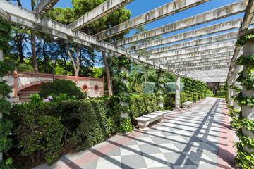 The Buen Retiro Park - Madrid - Spain
