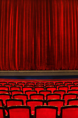 Photo sur Plexiglas Opera, Theatre Theatre seats