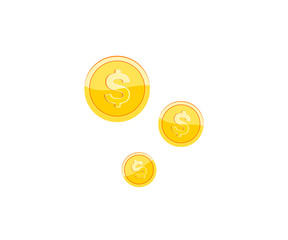 Isometric ruble money vector illustration