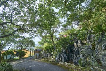 Caoling Historic Trail - trail near the village of Dali (Taiwan)