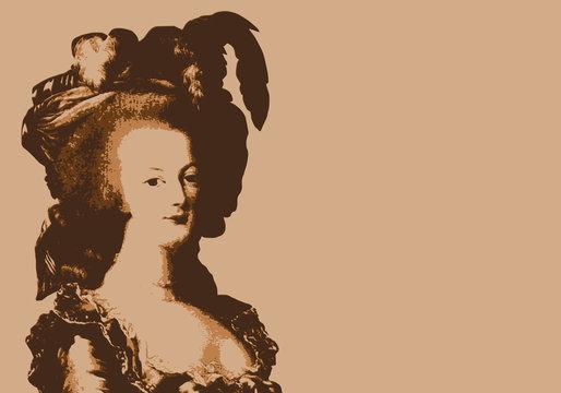 Marie Antoinette - reine - révolution - portrait - révolutionnaire - personnage historique - guillotine