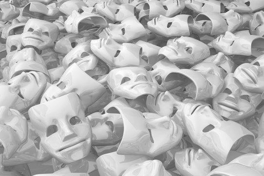 Masks White Content