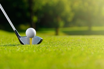 Fotobehang Golf Let's golf
