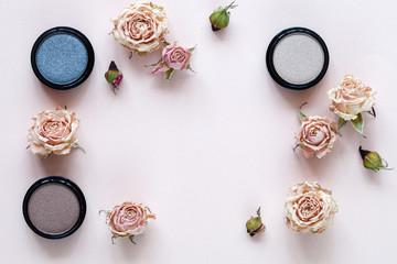 Decorative cosmetics background