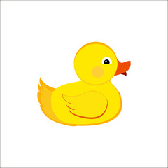 duck cute,  yellow,  play,  duck,  symbol, animal,
