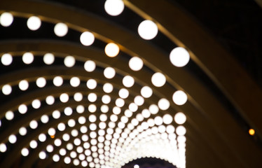 Background image with white round spots