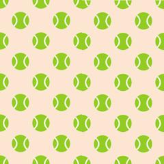 Tennis ball seamless pattern background