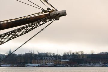 Old ship in Stockholm