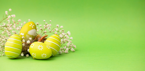 Easter background concept.