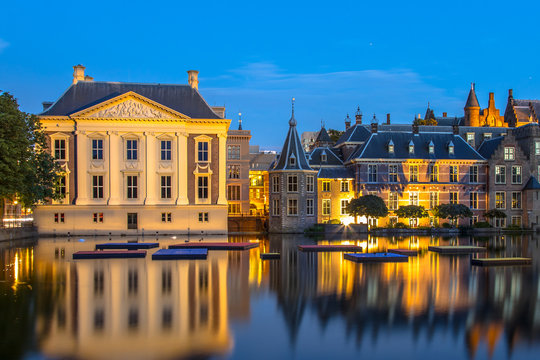 Parliament Binnenhof and Mauritshuis The Hague