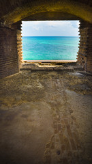 Dry Tortuga's Fort Jefferson Window