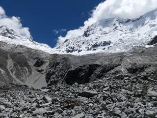 Randonnée Laguna 69 à Huaraz dans la Cordillère des Andes au Pérou