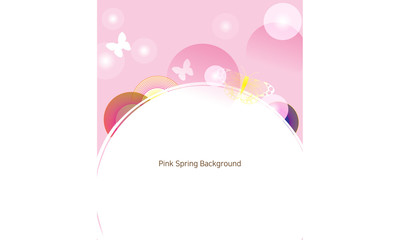 pink spring background 001
