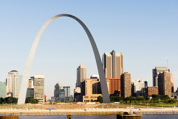 Gateway to the West Downtown St Louis Arch Waterfront