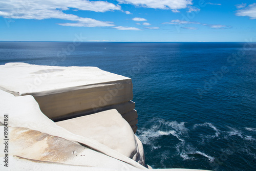 Royal National Park Wedding Cake Rock In Sydney Australia Stock