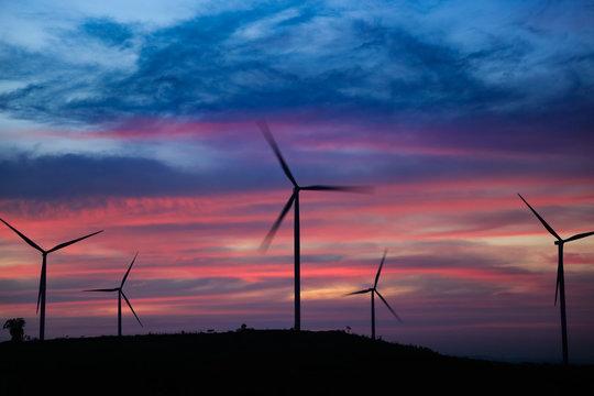 wind power mills ,thailand