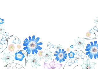 春 夏 花 背景