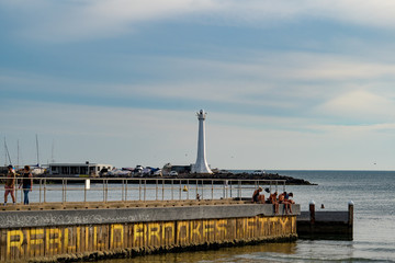 Saint Kilda Beach Lighthouse
