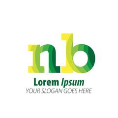 Initial Letter Green Logo