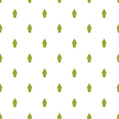 Rowan leaf pattern seamless in flat style for any design
