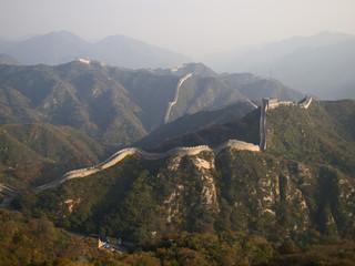 Badaling Great Wall in autumn, Beijing