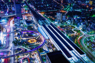 Night view from Gifu City Tower 43