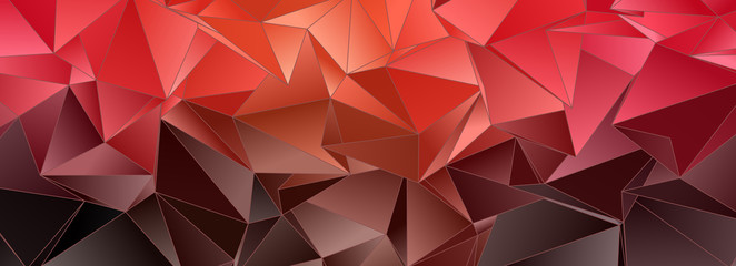 Abstract background. Polygonal texture