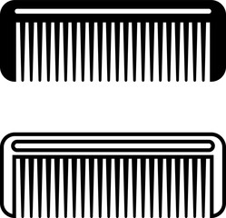 Hairbrush Icon, Comb Icon