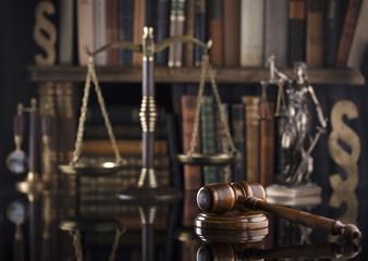 Law symbols.
