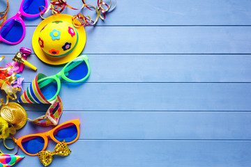 Celebration concept for party birthday carnival or silvester