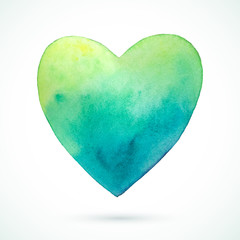 Heart-green-blue